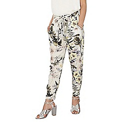 Dorothy Perkins - Petite ivory floral joggers