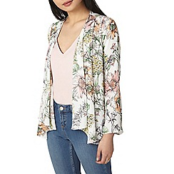 Dorothy Perkins - Petite ivory floral cover up