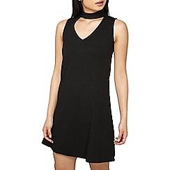 Dorothy Perkins - Petite black choker dress