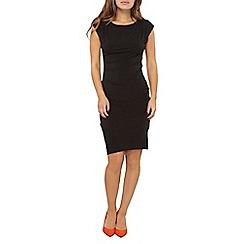 Dorothy Perkins - Petite black asymmetric dress
