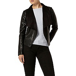 Dorothy Perkins - Black waterfall jacket