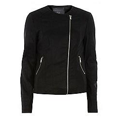 Dorothy Perkins - Tall collarless stitch jacket