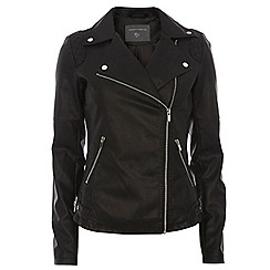 Dorothy Perkins - Tall quilted biker jacket