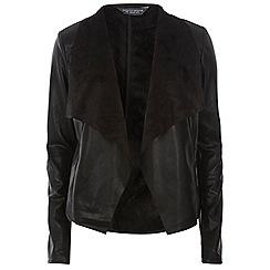 Dorothy Perkins - Tall black waterfall jacket