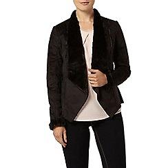 Dorothy Perkins - Waterfall shearling jacket