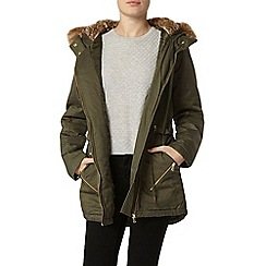 Dorothy Perkins - Mix and match asymmetric parka