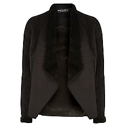 Dorothy Perkins - Tall faux shearling jacket