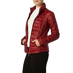 Dorothy Perkins - Red puffa jacket with bag