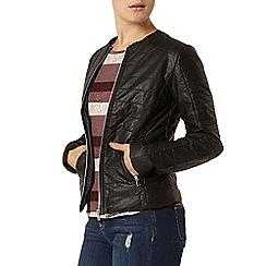 Dorothy Perkins - Faux leather padded jacket
