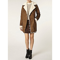 Dorothy Perkins - Tall faux shearling coat