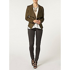 Dorothy Perkins - Suedette waterfall jacket