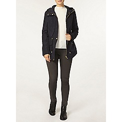 Dorothy Perkins - Navy lightweight trim jacket