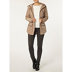 Dorothy Perkins - Stone lightweight trim jacket
