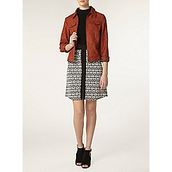 Dorothy Perkins - Tall faux suede western jacket
