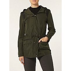 Dorothy Perkins - Khaki lightweight panel jacket