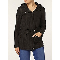 Dorothy Perkins - Black lightweight panel jacket