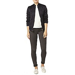 Dorothy Perkins - Navy quilted bomber jacket