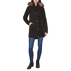Dorothy Perkins - Tall charcoal padded coat