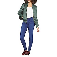 Dorothy Perkins - Tall diamond quilted bomber jacket