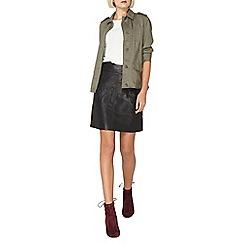 Dorothy Perkins - Khaki button front jacket