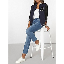 Dorothy Perkins - Varsity badged bomber jacket