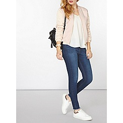 Dorothy Perkins - Pink colourblock bomber jacket