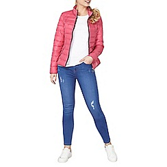 Dorothy Perkins - Pink quilt pack-a-jacket