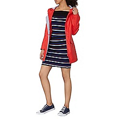 Dorothy Perkins - Red stripe lined raincoat