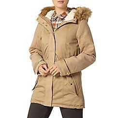Dorothy Perkins - Neutral contrast sleeve parka jacket