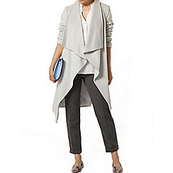 Dorothy Perkins - Grey waterfall jacket