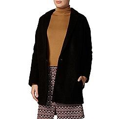 Dorothy Perkins - Black wool boyfriend coat