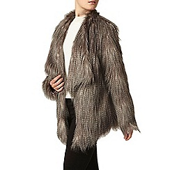 Dorothy Perkins - Chinchilla faux fur coat
