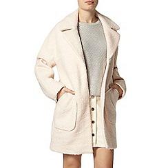 Dorothy Perkins - Nude boiled wool coat