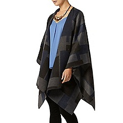 Dorothy Perkins - Blue check cape