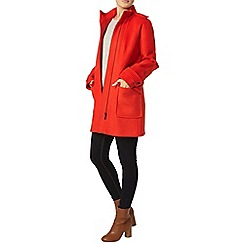Dorothy Perkins - Tomato funnel coat