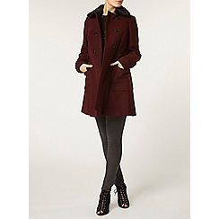Dorothy Perkins - Port fit and flare coat