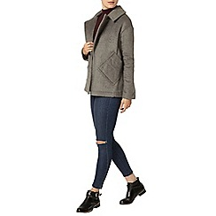 Dorothy Perkins - Grey short coat