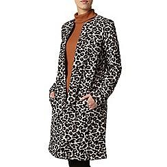 Dorothy Perkins - Animal jacquard coat
