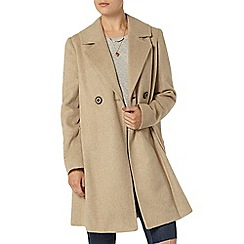 Dorothy Perkins - Camel twill swing coat