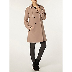 Dorothy Perkins - Camel bonded trench coat