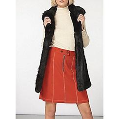Dorothy Perkins - Black shawl collar gilet