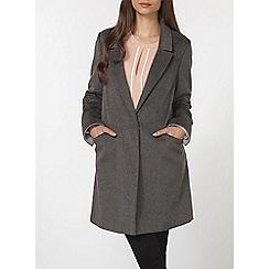Dorothy Perkins - Grey classic crombie coat