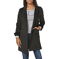 Dorothy Perkins - Khaki crombie coat