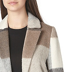 Dorothy Perkins - Tall check maxi coat