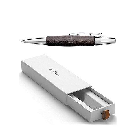 Faber Castell - Black chrome E-motion ball pen