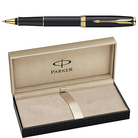 Parker - Black gold +sonnet+ roller ball
