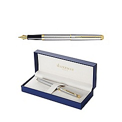 Waterman - Steel hemisphere fountain pen