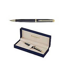 Waterman - Matte black gold trim hemisphere 10 ball pen