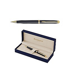 Waterman - Matte black gold trim hemisphere 10 pencil 0.5