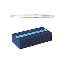 Waterman - White chrome trim hemisphere 10 ball pen